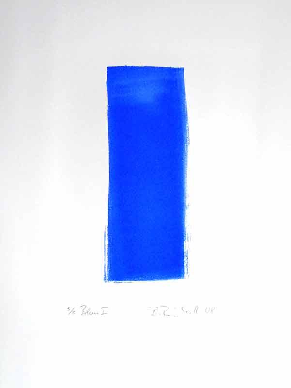 Lithographie Blau1